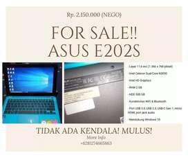 Dijual Asus  E202S
