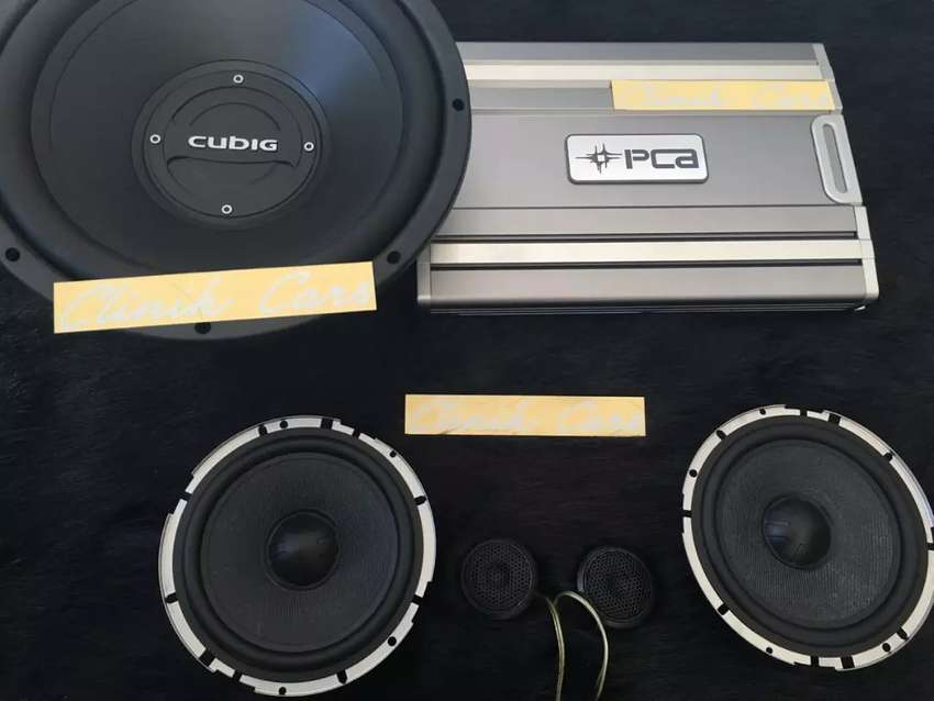 Audio mobil ( subwoofer cubig LA , power PCA ,split trans ) ^_^ 0