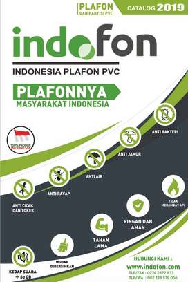 Toko plafon pvc merek indofon & plafindo di bayan lombok utara