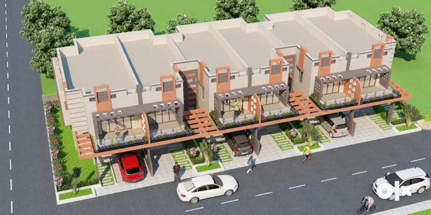 Looking for a Property? Then Book a 3BHK Row house in Abrama Road. 0