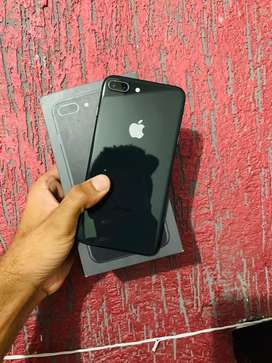 I phone 8 plus black colour 64 gb