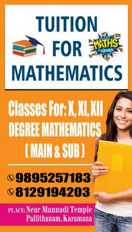 Tuition for Mathematics