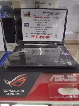 Asus ROG FX506LI-i75TB6T Intel Core i7-10870H bisa di kredit