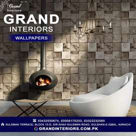 Wallpapers or wall pictures wall panels by Grand interiors