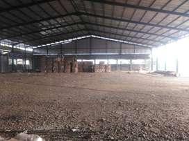 Gudang dan Tanah  di jalan Raya Bogor Jakarta Km 38 Cilodong Depok