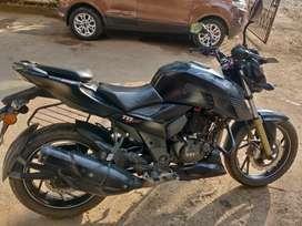 TVS Apache RTR 200 4V matt black