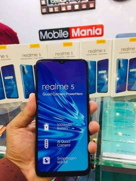 Realme 5 Boxed Pack 4GB 64GB (Boxed Pack)
