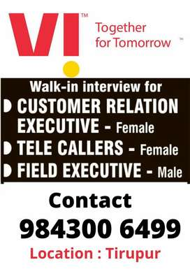 Looking for Female Telecallers and Customer service executives