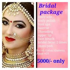 Pre bridal package