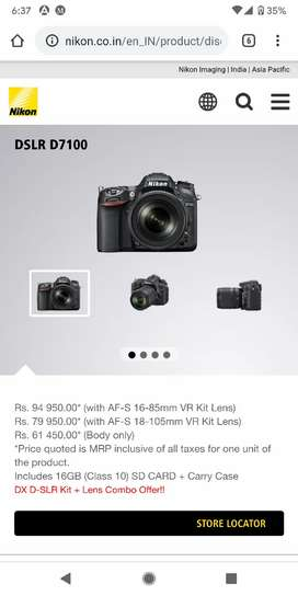 Nikon D7100 with 18-140mm f3.5g and 35mm f1.8g