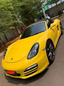 Porsche Boxter 2.7 PDK 2013 KUNING KM 8RB SUPER ANTIK SEKALI GRESS