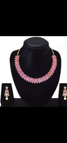 Pink Jewelry(No used)