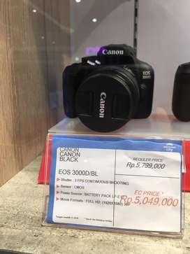 Canon 3000D cukup bayar 700,000