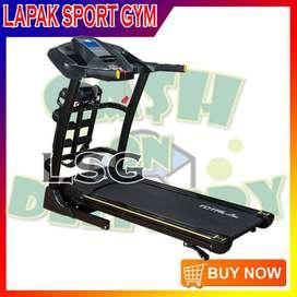 Alat Olahraga Fitness Treadmill Elektrik TL 636 Ori Merk Total