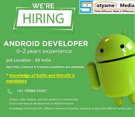Required part time Android Developer