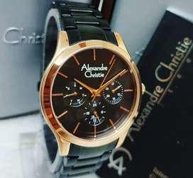 Di jual jam tangan merek ac lengkap kotak,boxs,buku,jam,kartu