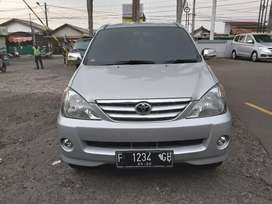 Avanza G th 2005 manual istimewa