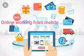 Online selling job from home.. sellary depend on your work