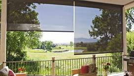 Roller Blinds (sunscreen fabric style) window blind covering solution
