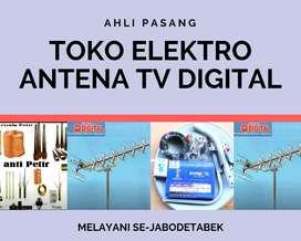 Terima Layanan Pasang Sinyal Antena Tv Sukatani