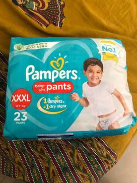 Pampers xxxl 23 baby dry pants