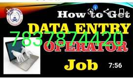 Data entry projects only simple typing work, we