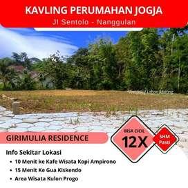 Angsuran 12X Tanpa Bunga, kavling Girimuliya Residence Include Fasum