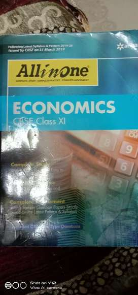 Economics (CBSE) class 11 (all in one)