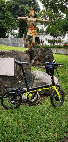 Sepeda Lipat Listrik Pacific Noris E16