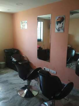 Currently running salon near Whitefield Bangalore is ready for sale