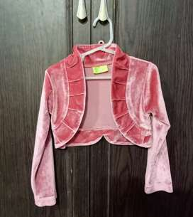 Pink Velvet Cutecumber Shrug