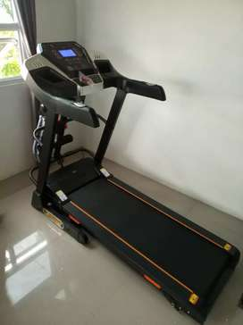 New Treadmill elektrik 14 speed Double shock F5 class komersil