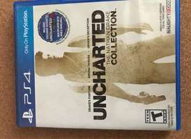 uncharted 1 2 3 collection ps4 game