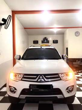 pajero sport dakar 2014 VGT 4x2 low km terawat