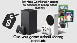 Xbox One/Series X games