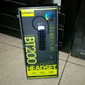 Headset vivan bt200 bluetooth