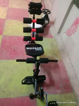 Brand new Six pack AB Machine with cycle
