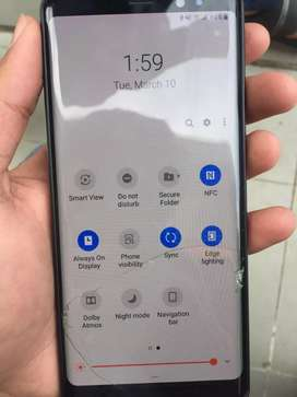 Samsung note 8 minor dotted