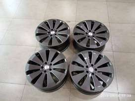 Velg Second Manaray Sport VR5 LUV Ring 19 Gunmetal