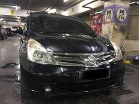 Grand Livina Ultimate Km 75rb Thn 2011 Facelift Hitam AT Matic
