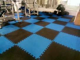 Imported Gym Flooring Tiles are Available in New Textures