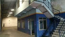 FOR RENT GUDANG Raya Sukomanunggal   Luas Tanah 800 m2  Luas Bangunan