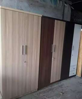 Wardrobes in different colours and designs