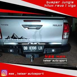 Rear bumper / bemper belakang hilux triton colorado dmax navara ranger