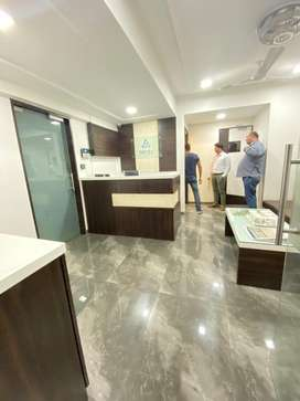 Lavish office on rent near thane railway station