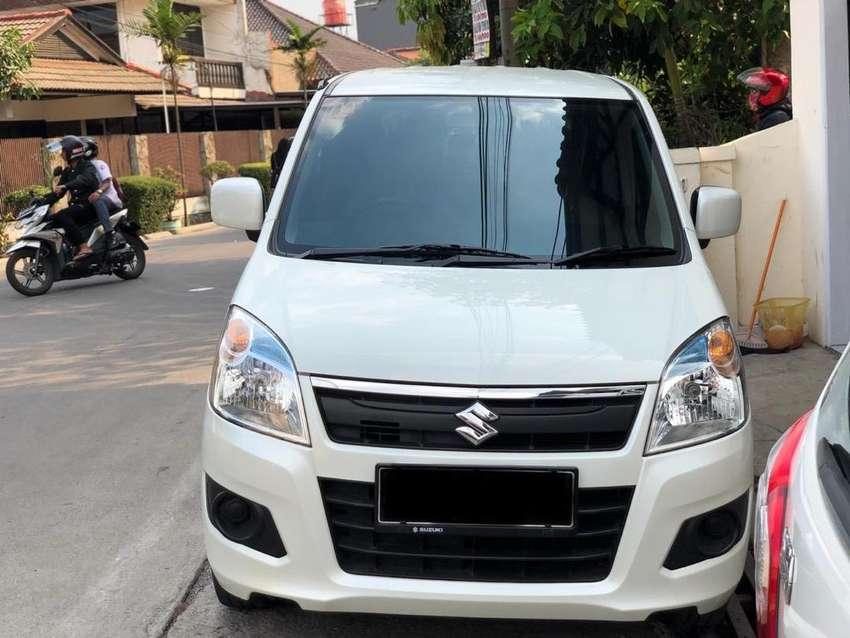Dp19,5jt Karimun wagon R GL matic 2017 Putih km 23rb 0