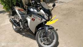 Honda CBR 250R 2011 model, 33000 Kms done still smooth running.