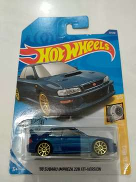 Hot Wheels Subaru Impreza