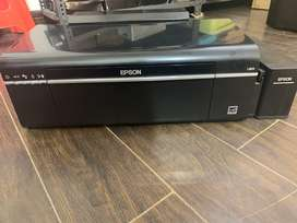 Epson L -805 used for 9 months  6,000