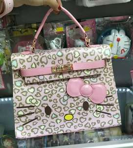 Tas hello kitty leopard